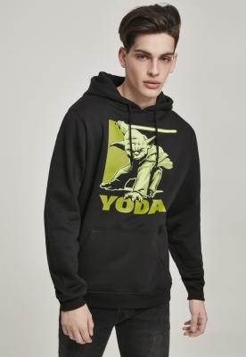 Hanorac Yoda negru Merchcode