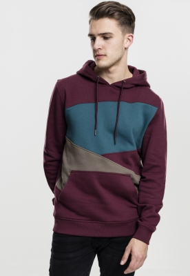 Hanorace urban zig zag cherry-army