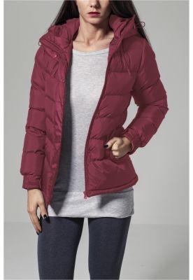 Geaca iarna pentru Femei rosu burgundy Urban Classics