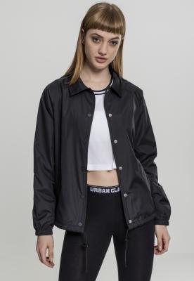 Jacheta Coach pentru Femei negru Urban Classics