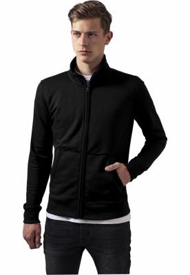 Jacheta cu Fermoar Loose Terry negru Urban Classics