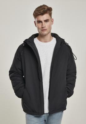 Jacheta cu gluga Easy negru Urban Classics