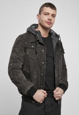 Jacheta Dayton iarna negru Brandit