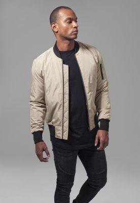 Jacheta doua culori Bomber auriu-negru Urban Classics