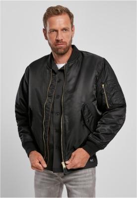 Jacheta MA1 Bomber negru Brandit