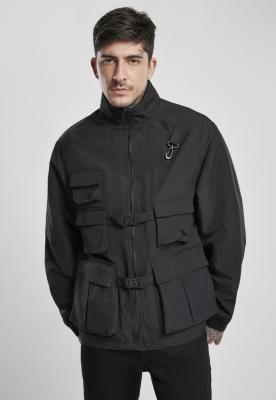 Jacheta Multi cu buzunar nailon negru Urban Classics