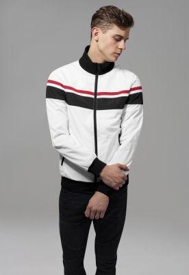 Jacheta nailon trei culori alb-negru Urban Classics