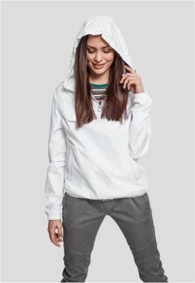 Jacheta Pulover Basic pentru Femei alb Urban Classics