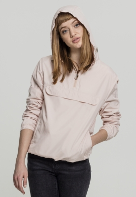 Jacheta Pulover Basic pentru Femei light-roz Urban Classics