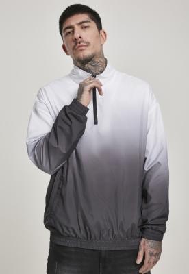 Jacheta Pulover Gradient negru-alb Urban Classics