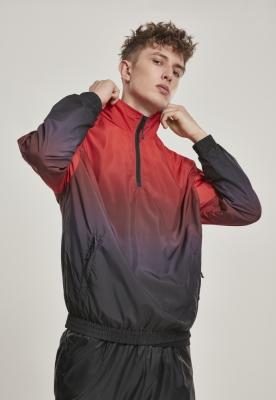 Jacheta Pulover Gradient negru-rosu Urban Classics