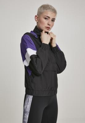 Jacheta Pulover Light trei culori pentru Femei negru-ultraviolet Urban Classics