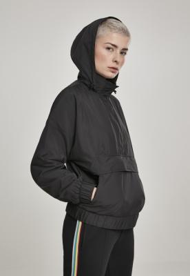 Jacheta Pulover Panel pentru Femei negru Urban Classics