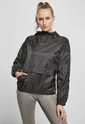 Jacheta Pulover Transparent Light pentru Femei negru Urban Classics