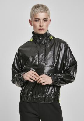Jacheta Pulover Vanish Crinkle pentru Femei negru Urban Classics