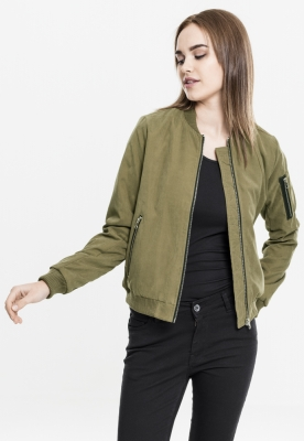 Jacheta urban Bomber pentru Femei oliv Urban Classics