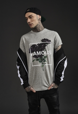 Life and Death Tee deschis-gri Famous