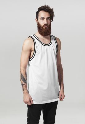 Maiou barbati fitness alb-negru Urban Classics