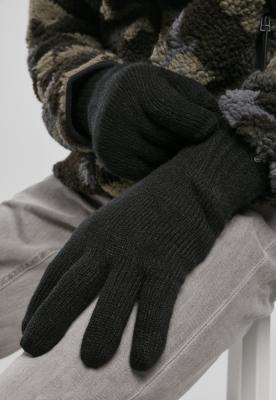 Manusi tricotate negru Brandit