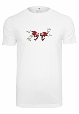 Tricou Money To Blow alb Mister Tee