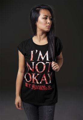 Tricou My Chemical Romance IM NOT OK pentru Femei negru Merchcode