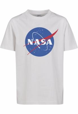 NASA Insignia Tee pentru Copii alb Mister Tee