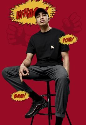 Tricou Neigschaut negru