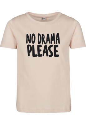 No Drama Tee pentru Copii roz Mister Tee
