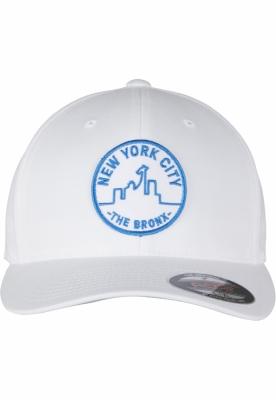 NYC Bronx Emblem Flexfit alb Merchcode