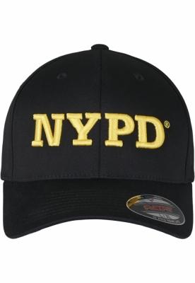 NYPD 3D Logo Flexfit negru Merchcode