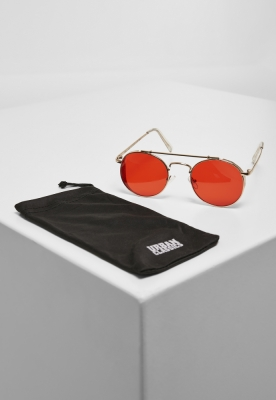 Ochelari de soare Chios auriu-rosu Urban Classics