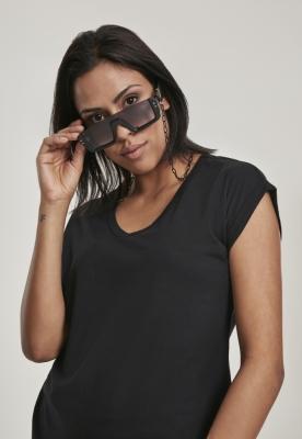 Ochelari de soare cu lant 106 Future negru-negru Urban Classics