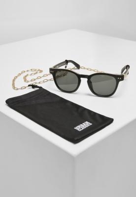 Ochelari de soare Italy cu lant negru-auriu Urban Classics