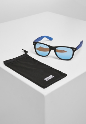 Ochelari de soare Likoma Mirror UC negru-albastru Urban Classics