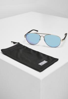 Ochelari de soare Mumbo Mirror UC argintiu-albastru Urban Classics