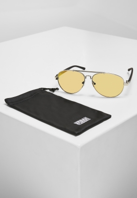 Ochelari de soare Mumbo Mirror UC argintiu-portocaliu Urban Classics