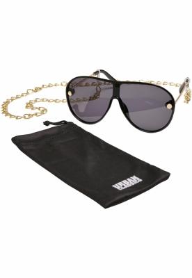 Ochelari de soare Naxos cu lant negru-auriu Urban Classics