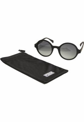 Ochelari de soare Retro Funk UC negru-verde Urban Classics