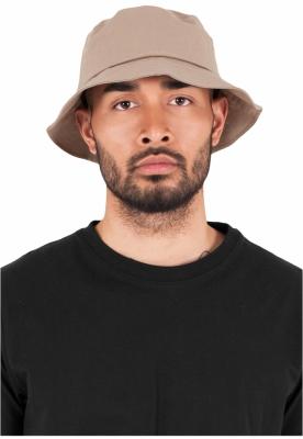 Palarie vara bumbac Flexfit Twill Bucket Hat barbati kaki