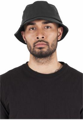 Palarii Full imitatie piele negru Flexfit