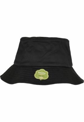 Palarii Organic bumbac negru Flexfit