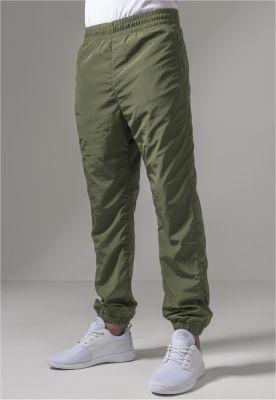 Pantaloni antrenament sport nailon oliv inchis Urban Classics