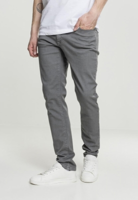 Pantaloni Basic Stretch 5 cu buzunar gri Urban Classics