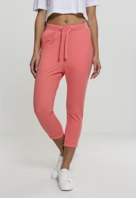 Pantaloni bumbac Open pentru Femei coral