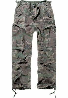 Pantaloni Cargo M-65 Vintage oliv-camuflaj Brandit