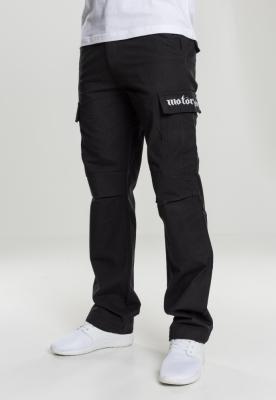 Pantaloni Cargo Motorhead Logo negru Merchcode