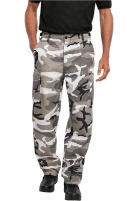 Pantaloni Cargo US Ranger snow-camuflaj Brandit
