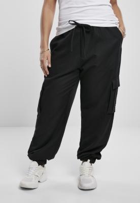 Pantaloni Cargo vascoza Twill pentru Femei negru Urban Classics