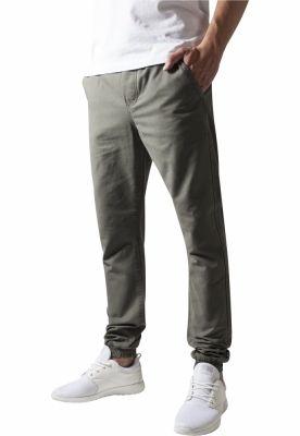 Pantaloni casual sport oliv Urban Classics