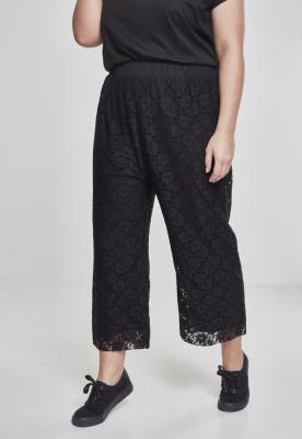 Pantaloni Culottes Laces pentru Femei negru Urban Classics